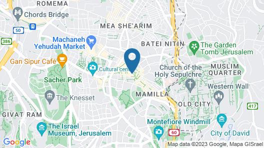 Herbert Samuel Jerusalem Map