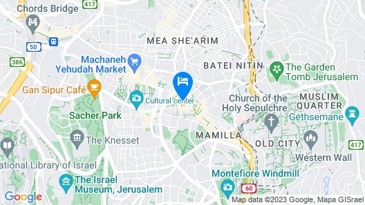 ibis Styles Jerusalem City Center - An AccorHotels Brand Map