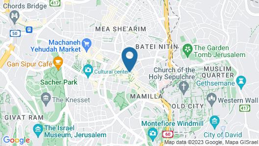 Stay Jaffa Jerusalem Map