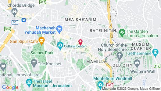 Zion Hotel Map