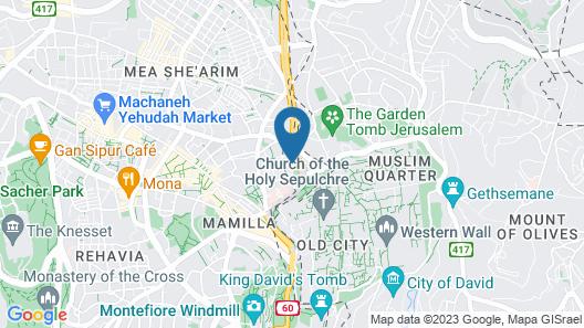 I'm Jerusalem Map