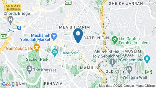Litov Hotel - A Religious Boutique Hotel Map