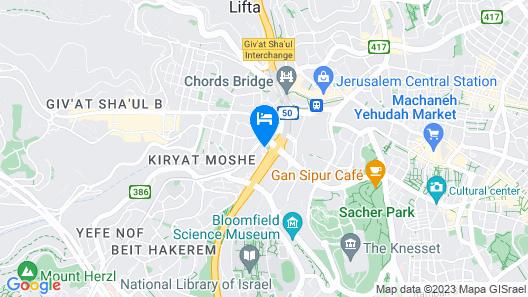 Prima Park Hotel Map