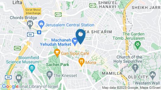 Machne Yehuda a member of Brown Hotels Map