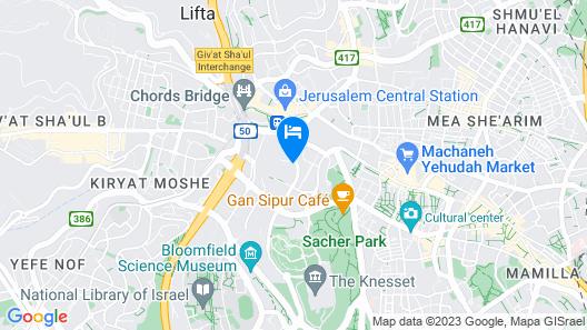 Vert Jerusalem Map