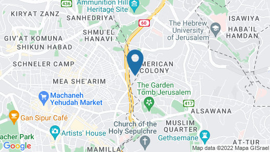 Grand Court Jerusalem Map