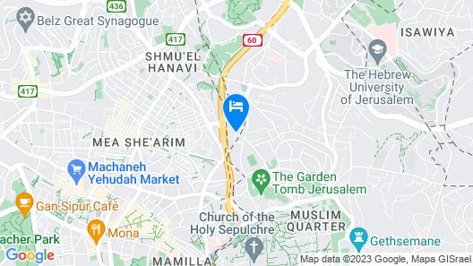 Grand Court Jerusalem Map