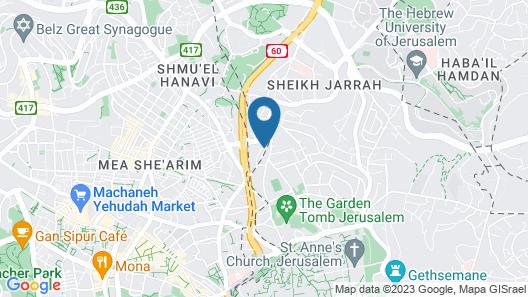 Leonardo Jerusalem Map