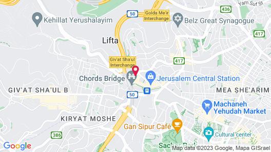 Jerusalem Gate Hotel Map