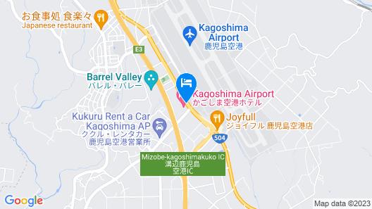Kagoshima Kuko Hotel Map