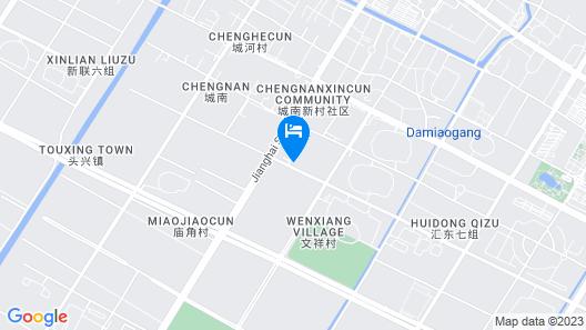 DoubleTree by Hilton Qidong, China Map