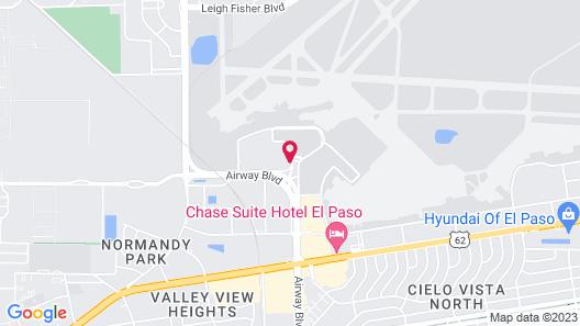 Best Western El Paso Airport Entrada Hotel Map