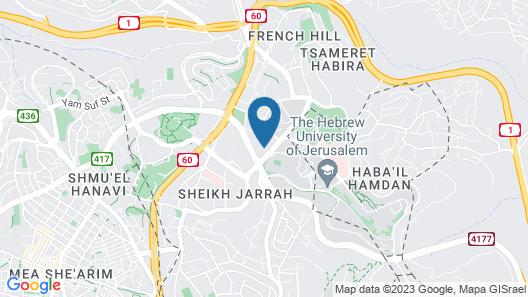 Dan Jerusalem Map