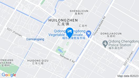 Hilton Garden Inn Qidong Map