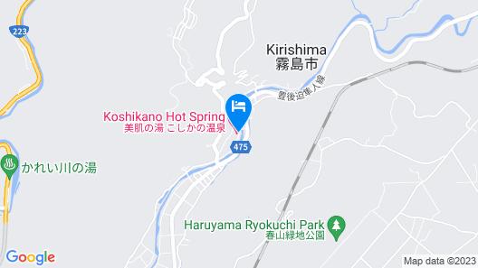 Koshikano Onsen Map