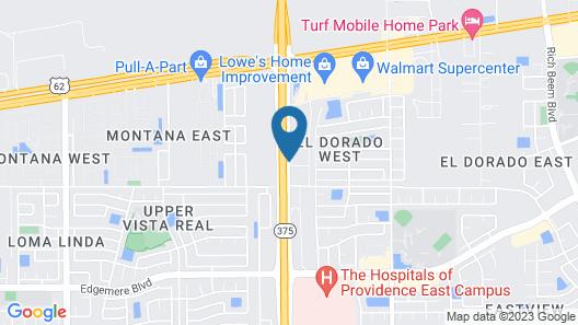 Tru By Hilton El Paso East Loop 375 Map