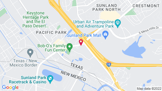 Holiday Inn El Paso West - Sunland Park, an IHG Hotel Map