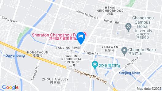 Changzhou Marriott Hotel Map