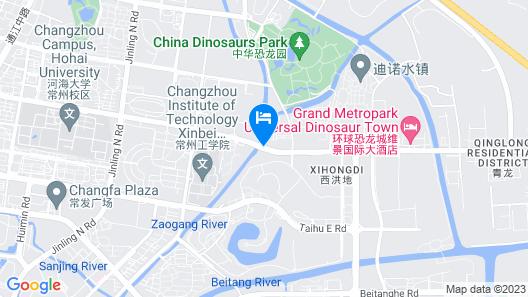 Marco Polo Changzhou Map