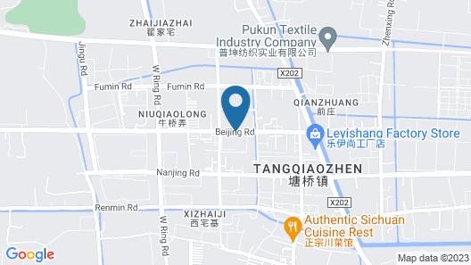 Holiday Inn Express Zhangjiagang East Map