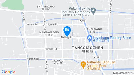 Holiday Inn Express Zhangjiagang East, an IHG Hotel Map