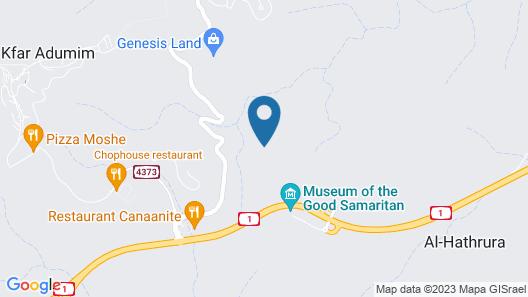 Desert Camping Israel - Hostel Map