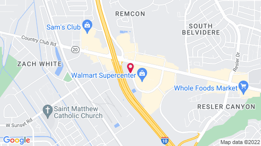 La Quinta Inn by Wyndham El Paso West Map