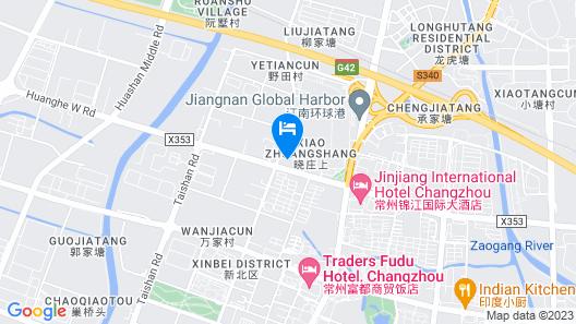Jin Jiang International Hotel Changzhou Map