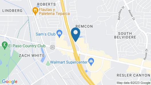 Comfort Suites El Paso West Map