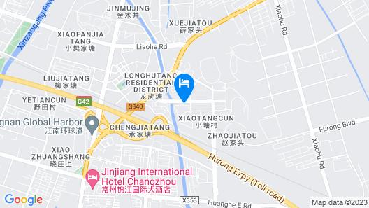 Hilton Garden Inn Changzhou Xinbei Map