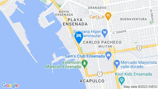 City Express Ensenada Map