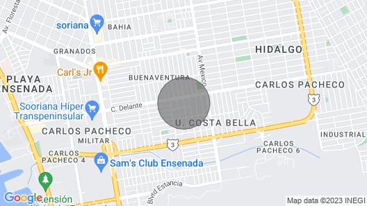 Home Sweet Home in Ensenada Map
