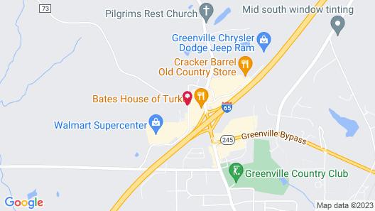 Holiday Inn Express Greenville, an IHG Hotel Map