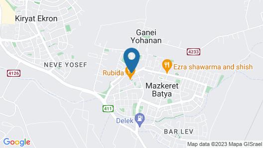 Hapina Shel Michal Map