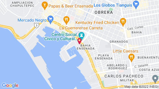 Corona Hotel & Spa Map