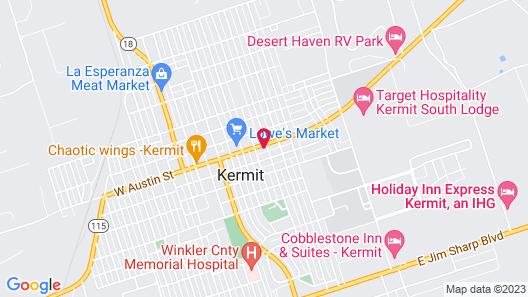 Target Hospitality-Kermit South Lodge Map
