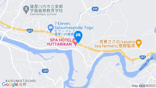 Tougouonsen Yuttarikan Map