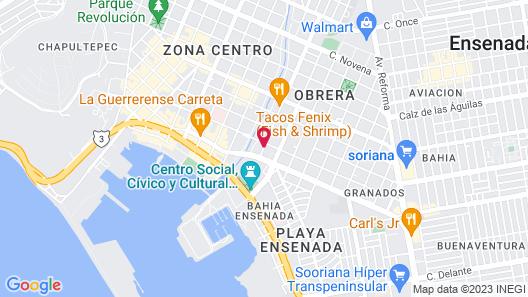 Hotel Sahara Map