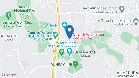 Opal Hotel Amman Map