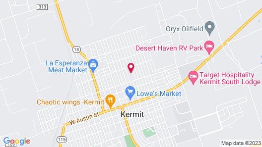 Target Hospitality-Kermit North Lodge Map