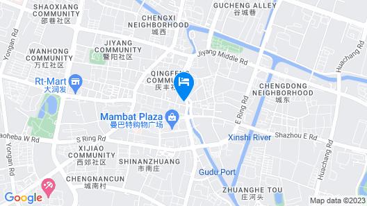 Jinjiang Inn Zhangjiagang West Yangshe Street Pedestrian Street Branch Map