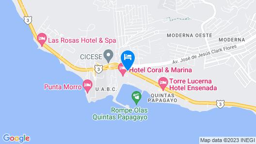 Hotel Coral And Marina Map
