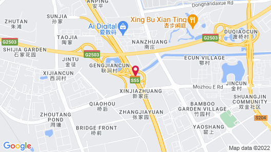 Holiday Inn Nanjing Qinhuai South Suites Map