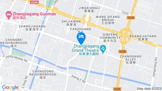 Zhangjiagang Marriott Hotel Map