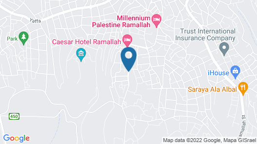 Grand Park Hotel Map