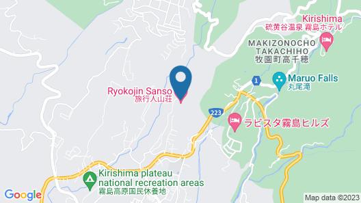 Ryokojin Sanso Map