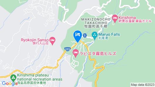 Kirishima Miyama Hotel Map