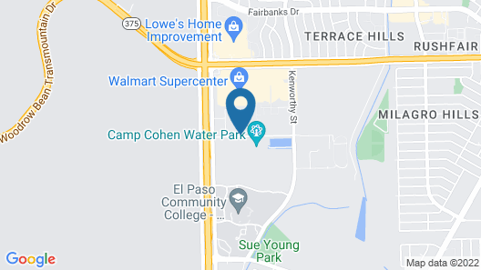 Candlewood Suites El Paso North, an IHG Hotel Map