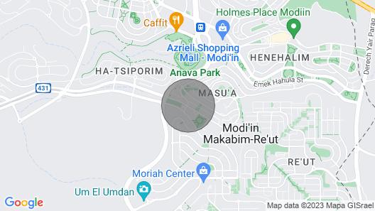 Modiin , Israel Casa Amplia con Jardin Map