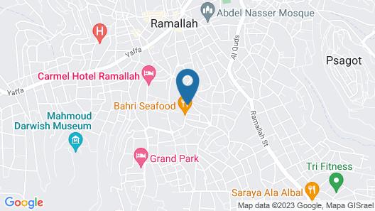 Millennium Palestine Ramallah Map